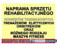 Naprawa,Serwis Fitness,Warszawa,Lublin,Płock