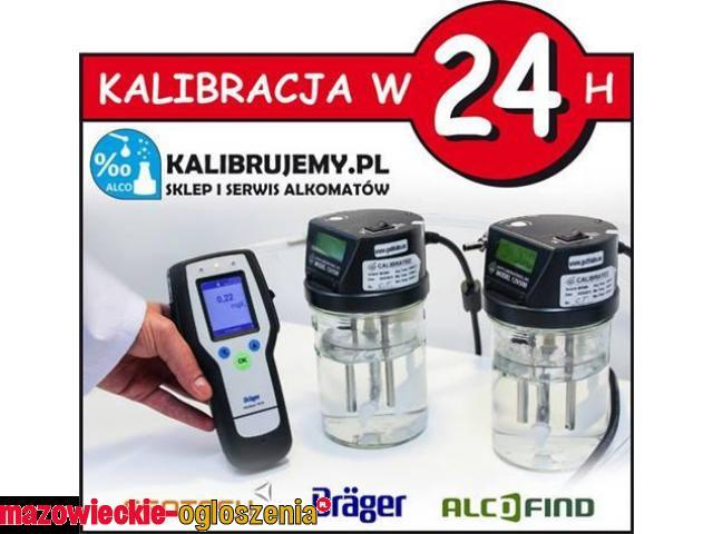Kalibracja, Serwis analizatorów wydechu (alkomatów) 24H